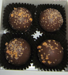 Pumpkin Pie Truffle Gift Box - 4 Piece