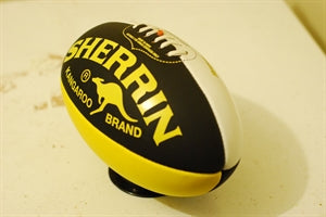 Yellow/Black Sherrin Aussie Rules Football