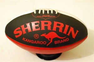 Red/Black Sherrin Aussie Rules Football