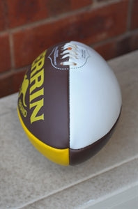 Brown/Gold Sherrin Aussie Rules Football due