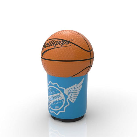 Basketball Bottle Pops bottle openers with a sound file