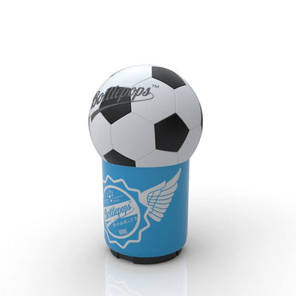 Soccer Bottle Pops bottle openers with a sound file