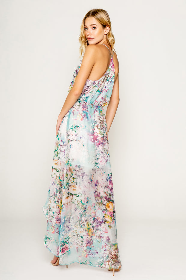 Garden Party Silk Maxi Dress 02
