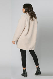 French Vanilla Sherpa Jacket by Lavender Brown 002
