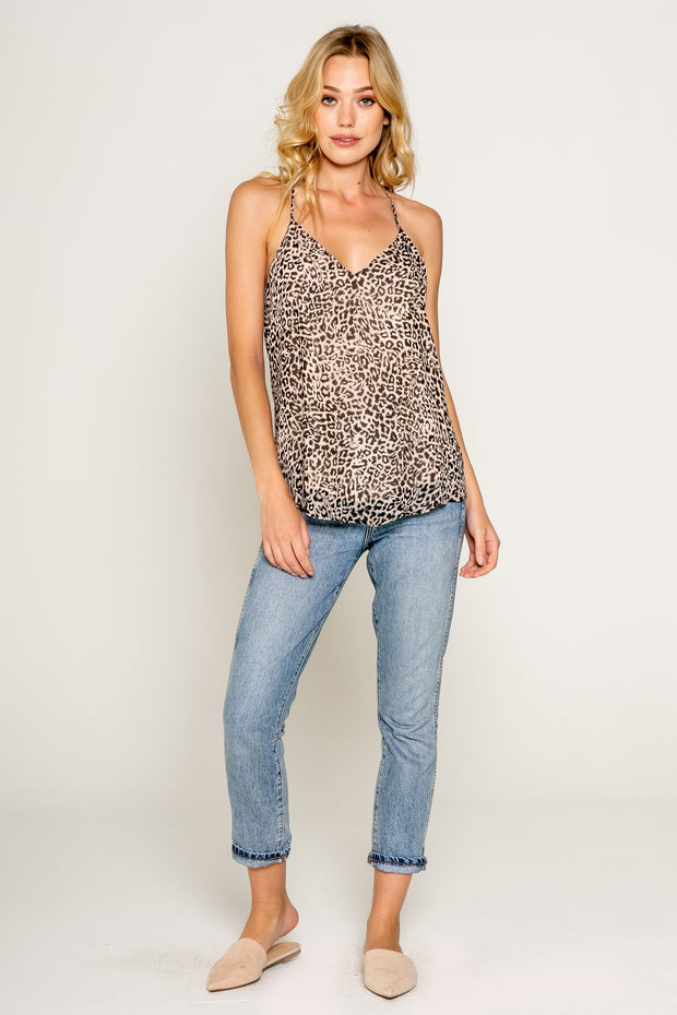 Neutral Cheetah Print Cami 01