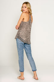 Neutral Cheetah Print Cami 02