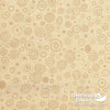"Quilt Backing Cotton 108"" - Ditzy, Cream"