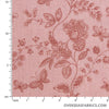 "Quilt Backing Cotton 108"" - Butterfly, Dusty Peach"