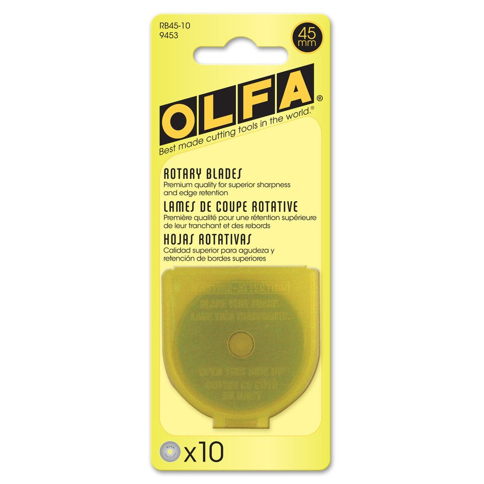 Olfa - Replacement Blade, 45mm, 10pc