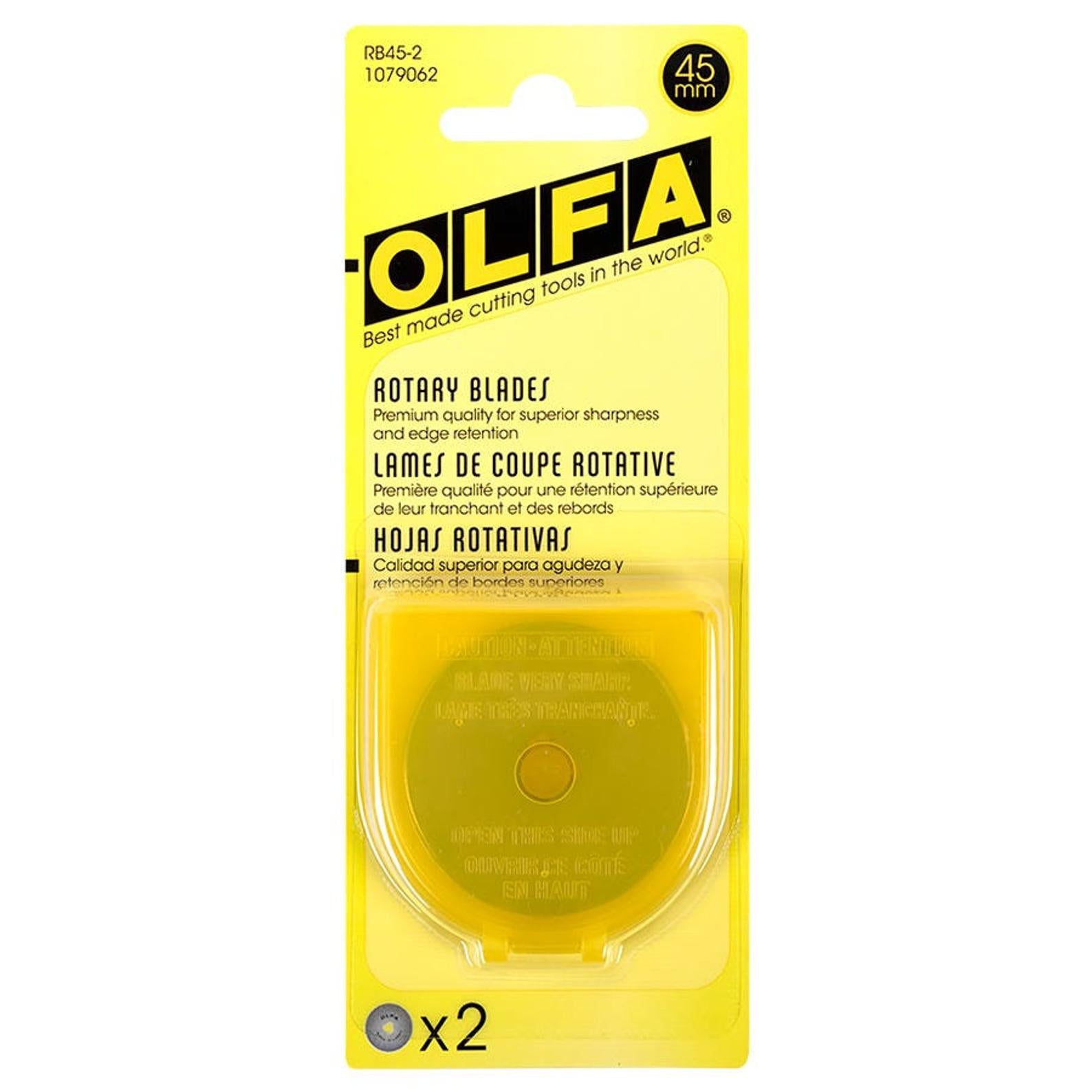 Olfa - Replacement Blade, 45mm, 2pc