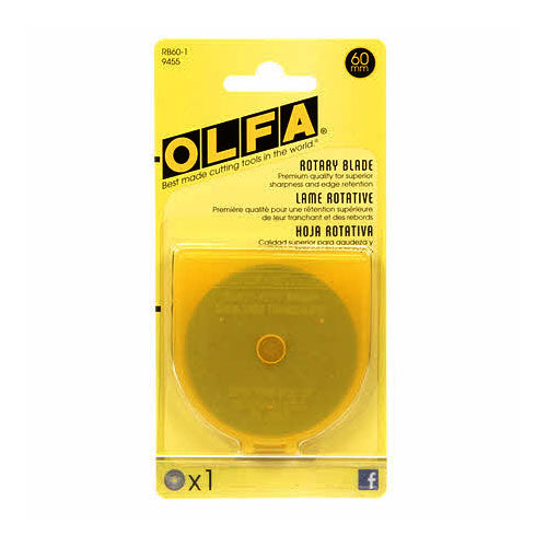 Olfa - Replacement Blade, 60mm, 1pc