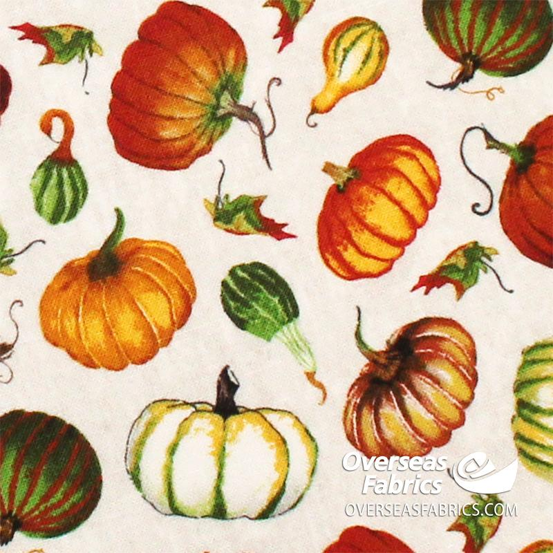 Blank Quilting - Fall Delight, Mini Tossed Pumpkins, Neutral