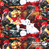David Textiles - Festive Holiday Cats, Christmas, Multi