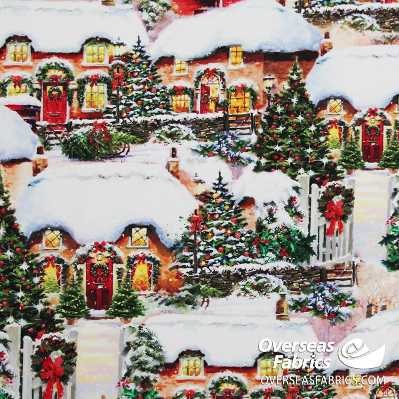 David Textiles - Holiday Impressions, Decorating for Christmas, Multi
