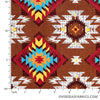 David Textiles - Northwest Territory, Native Horizon, Brown
