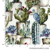 David Textiles - Lisa Audit, Cactus Garden, Green