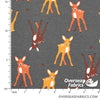 "Cotton-Lycra Knit 60"" - Deer"