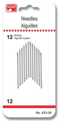 Tailorform - Hand Sewing Needles - Quilting, 12