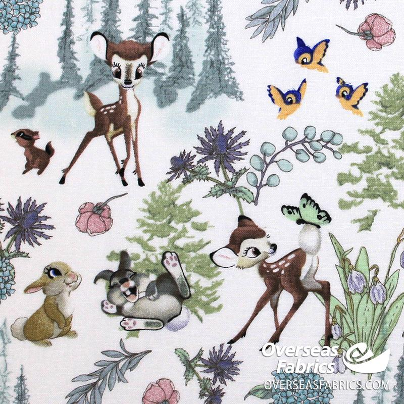 Springs Creative - Disney, Bambi and Friends, Neutral