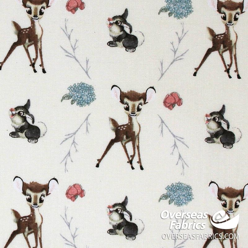 Springs Creative - Disney, Bambi and Thumper in Nature, Multi