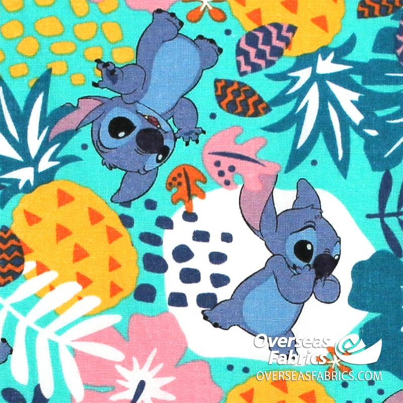 Springs Creative - Disney, Lilo and Stitch in the Jungle, Teal