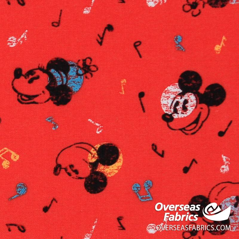 Springs Creative - Disney, Mickey Mouse Tossed, Red