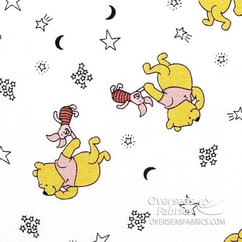 Springs Creative - Disney, Pooh and Piglet Tossed, White