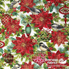 StudioE Fabrics - Christmas Joy, Poinsettia, Neutral