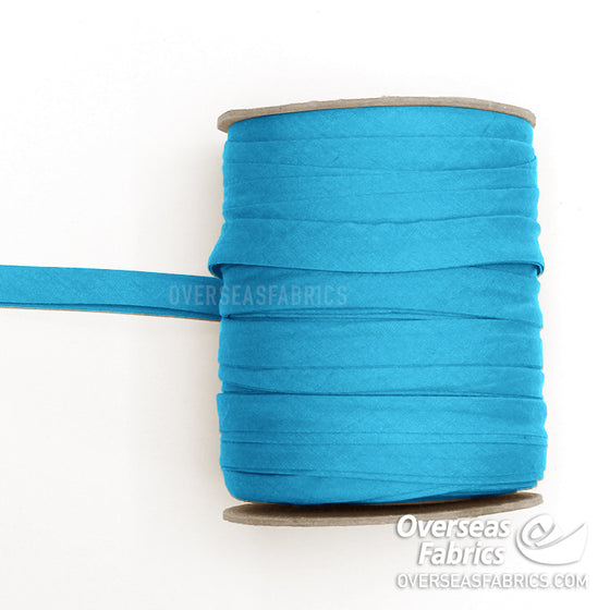 "Double-fold Bias Tape 13mm (1/2"") - 007 Turquoise"