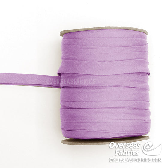 "Double-fold Bias Tape 13mm (1/2"") - 025 Lilac"