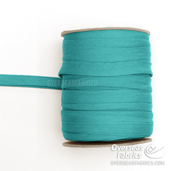 "Double-fold Bias Tape 13mm (1/2"") - 028 Jade"