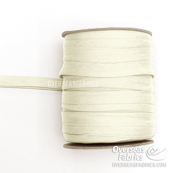 "Double-fold Bias Tape 13mm (1/2"") - 031 Ivory"