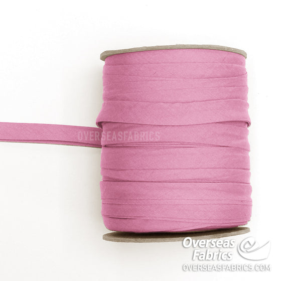 "Double-fold Bias Tape 13mm (1/2"") - 039 Dusty Rose"