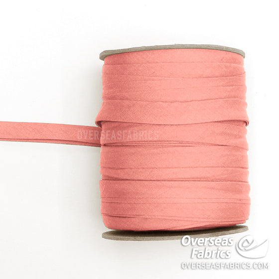 "Double-fold Bias Tape 13mm (1/2"") - Peach"