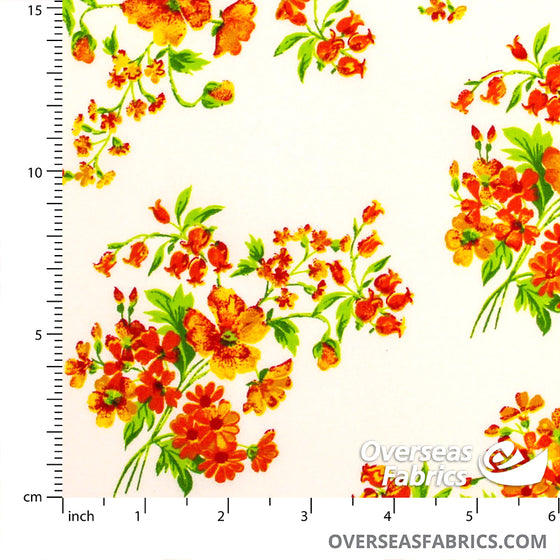 Big Floral Bouquets, Orange
