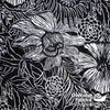 "Bryant Outdoor Fabric 54"" - Night Floral, Black"