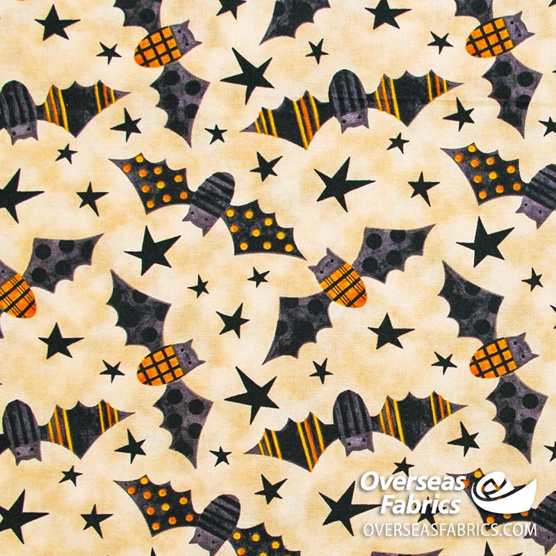 Blank Quilting - Too Cute to Spook, Bats
