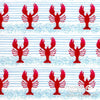 Blank Quilting - Harbor Days, Lobster, Red