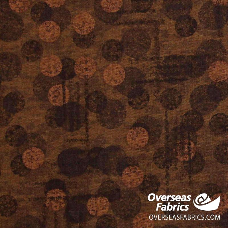 Blank Quilting - Jot Dot Tonal Texture, Brown