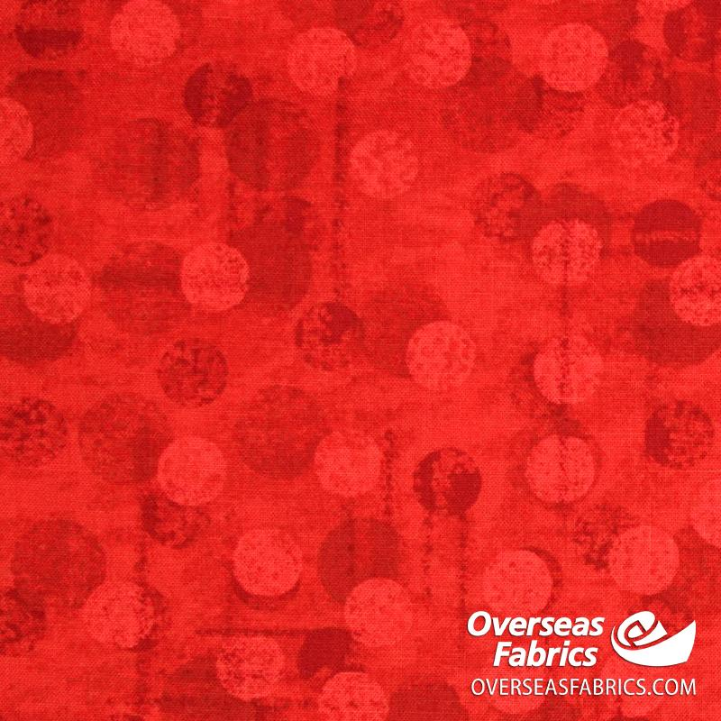 Blank Quilting - Jot Dot Tonal Texture, Red