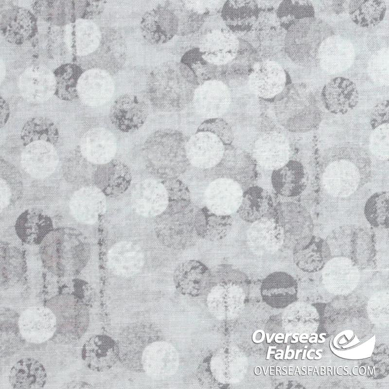 Blank Quilting - Jot Dot Tonal Texture, Light Grey
