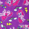 "Flannelette Print 45"" - July 2020 Collection; Design 2 - My Little Pony, Rainbows"