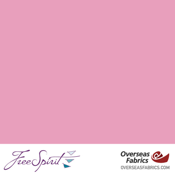 "FreeSpirit Designer Essentials Cotton Solids 45"" - Pink - PINKX"