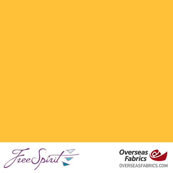 "FreeSpirit Solids 45"" - Saffron"