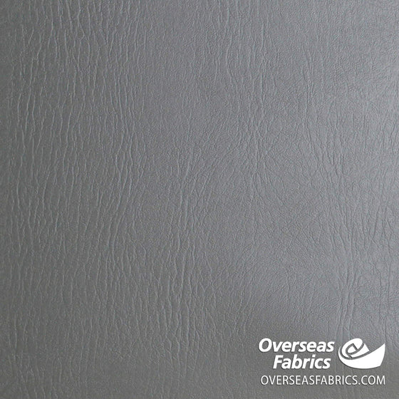 "Heavy Vinyl Leather 56"" - Grey"