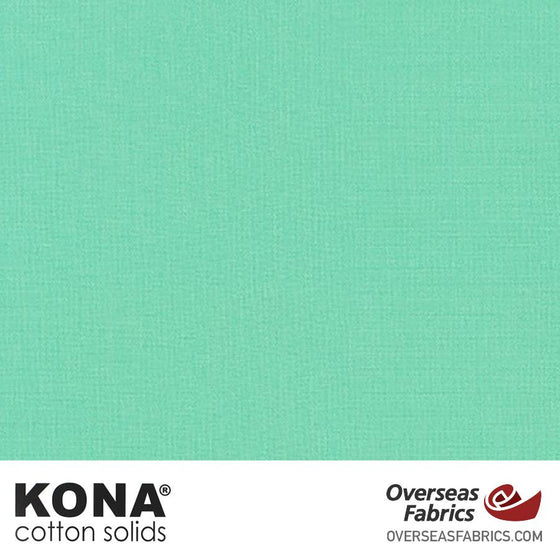 "Kona Cotton Solids Aloe - 44"" wide - Robert Kaufman quilting fabric"