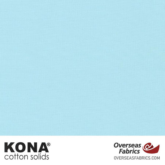 "Kona Cotton Solids Baby Blue - 44"" wide - Robert Kaufman quilting fabric"