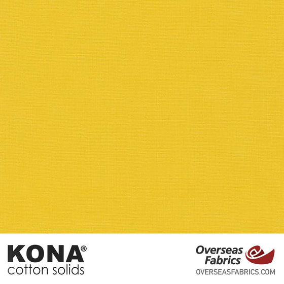 "Kona Cotton Solids Banana Pepper - 44"" wide - Robert Kaufman quilting fabric"