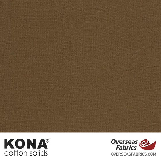 "Kona Cotton Solids Cappuccino - 44"" wide - Robert Kaufman quilting fabric"