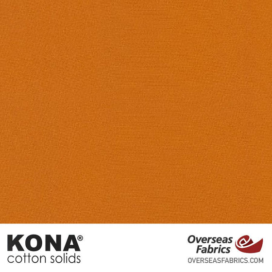 "Kona Cotton Solids Cedar - 44"" wide - Robert Kaufman quilting fabric"